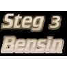 Steg 3 - Bensin