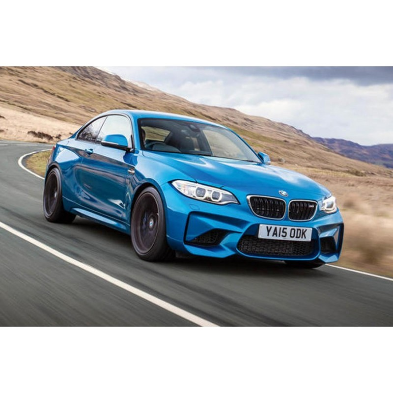 BMW M2 Competition 410hk 2018